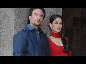 kareena kapoor n saif in kurbaan having Kiss n sex on bed free video