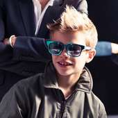 Romeo Beckham Unveils New Fashion Campaign Pictures For Burberry