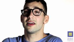 Jack Antonoff of fun  for HRC's Americans for Marriage Equality