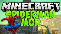 Related to Spider Man Mod For Minecraft 1 7 4 / 1 7 2 / 1 6 4 & 1 5 2