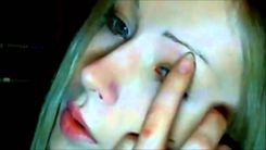 nude 21 yearold Ukrainian Valeria Lukyanova undergoes surgery to No