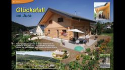 Blockhome TV  Naturstammhaus Jura (CH)  YouTube