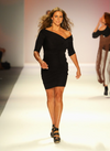 HOTTEST DIVAS: Stephanie McMahon walks the runway at New York Fashion