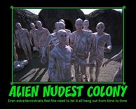 ALIEN NUDEST COLONY Graphics, Pictures, & Images for Myspace Layouts