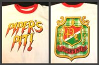 rowdy roddy piper s pit crest ringer t shirt new ebay  Pipers Pit