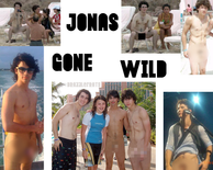 Origin of nude Jonas Brothers Gone Wild photos? (blurredout nsfw