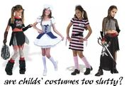 Are Halloween costumes for little girls too slutty?