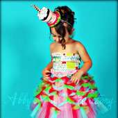 Abby's TuTu Factory: NEW! Confetti Criss Cross TuTu From Abby's TuTu