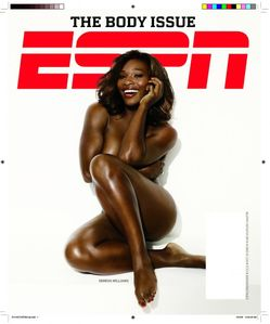 "Photo: Serena Williams poses naked for ESPN Magazine ""Body Issue"