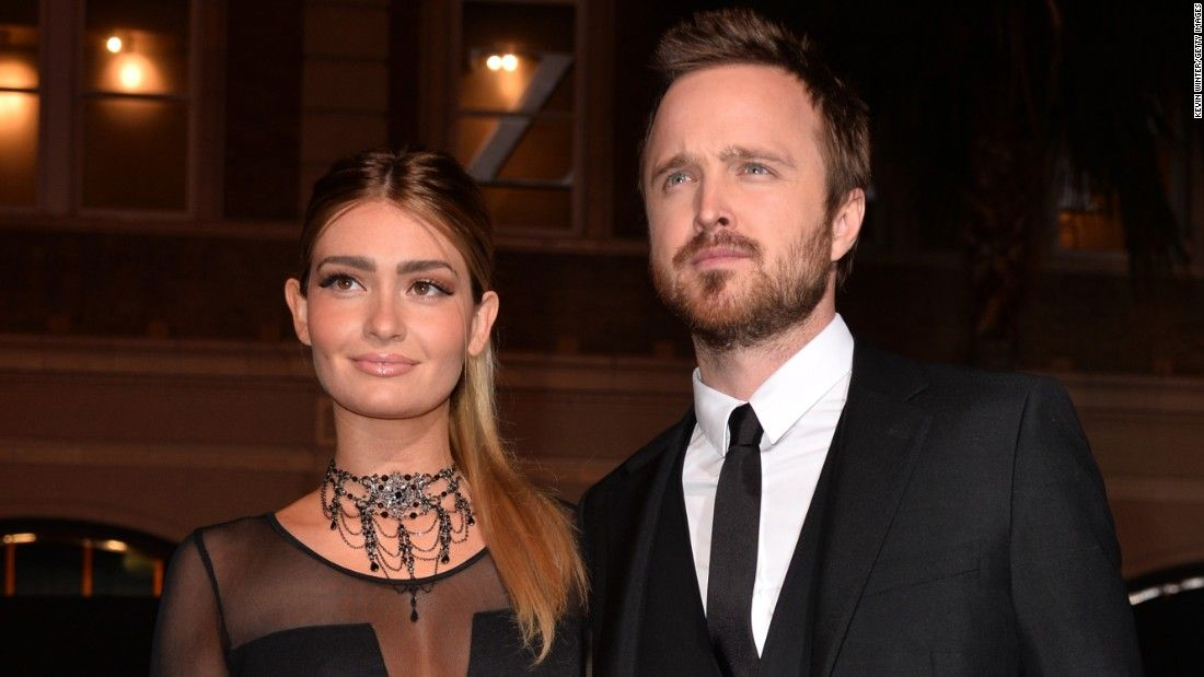 Aaron Paul and Lauren Parsekian are expecting a baby