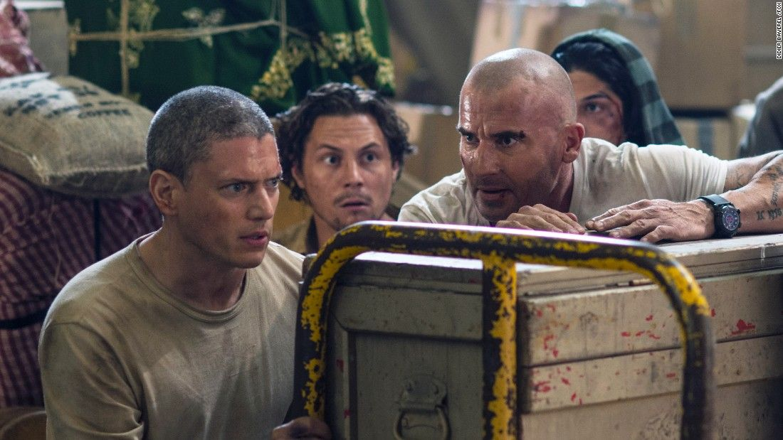 The 'Prison Break' reunion you were waiting for finally happened