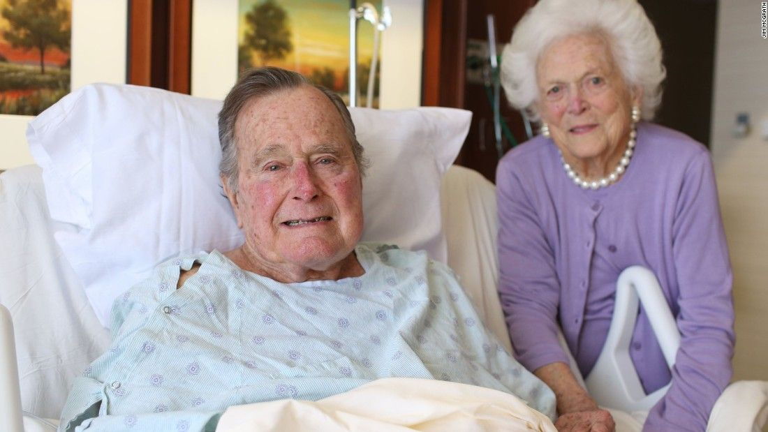 Bush Sr. released from hospital