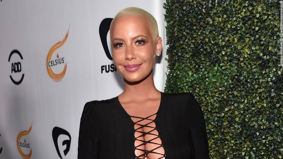 Amber Rose explains split and that kiss