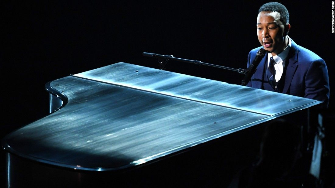 John Legend's first concert was much cooler than yours