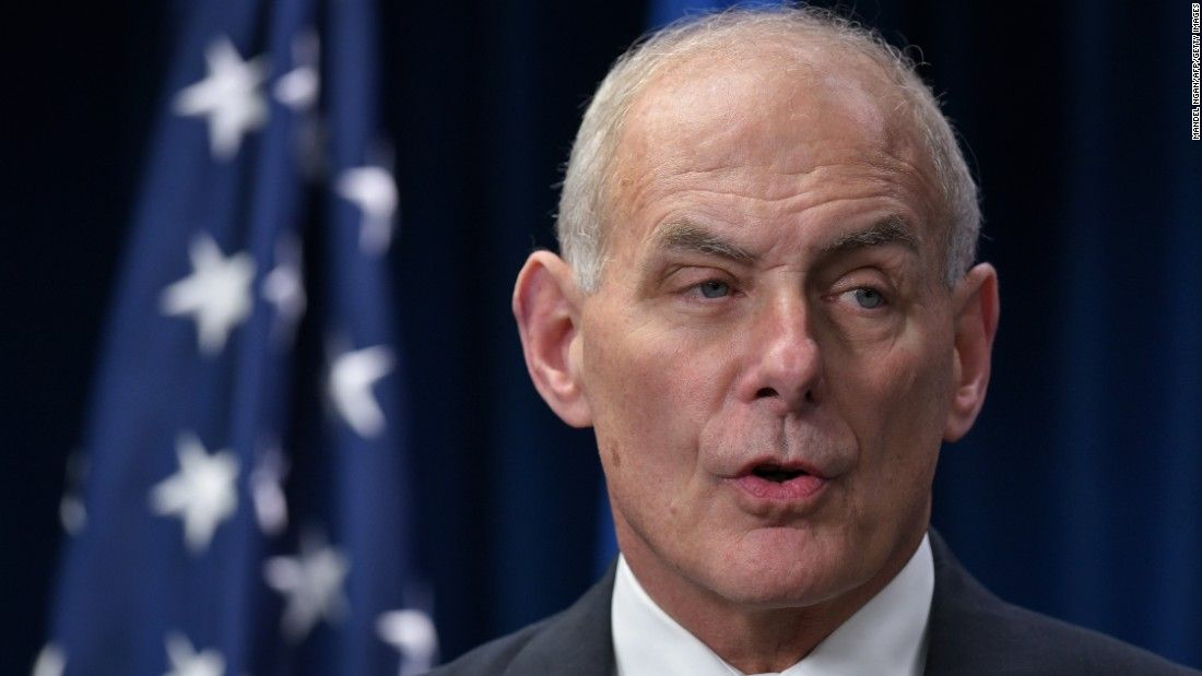 Kelly: Border wall construction by end of summer