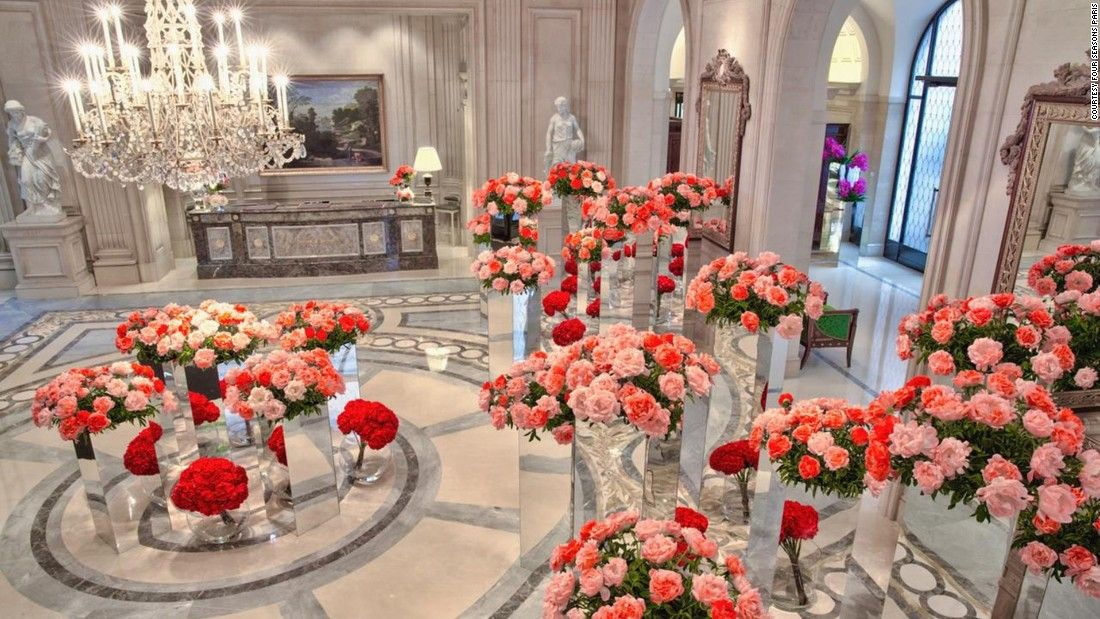 The world's most beautiful floral hotels