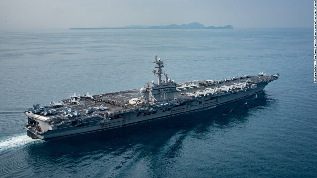 Mockery, anger in South Korea over USS Carl Vinson 'bluffing'