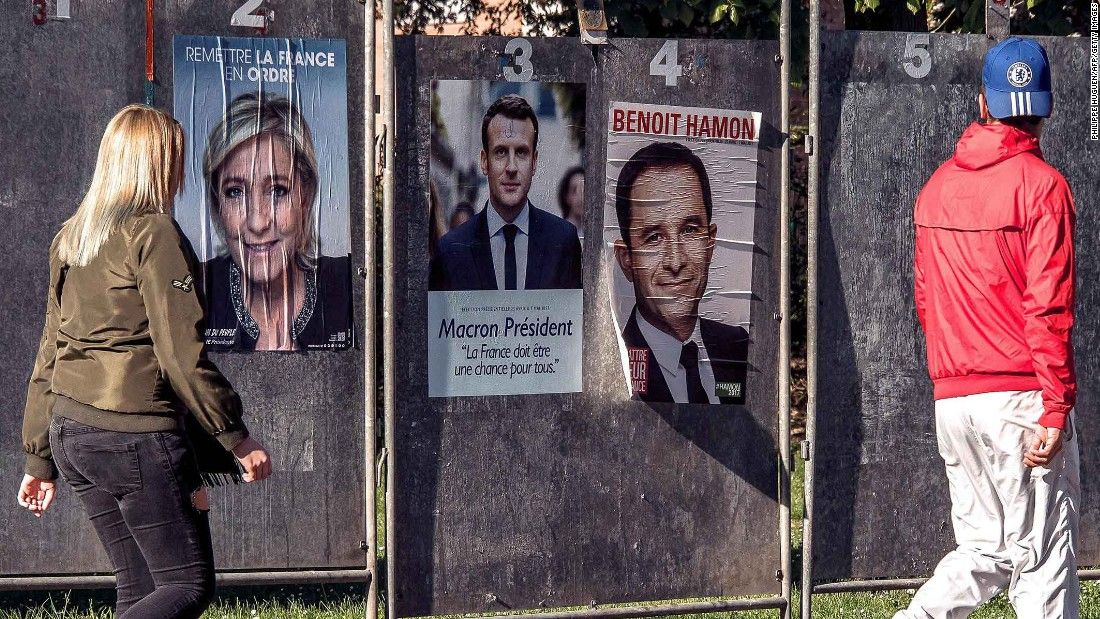 France begins voting for president after bitter campaign
