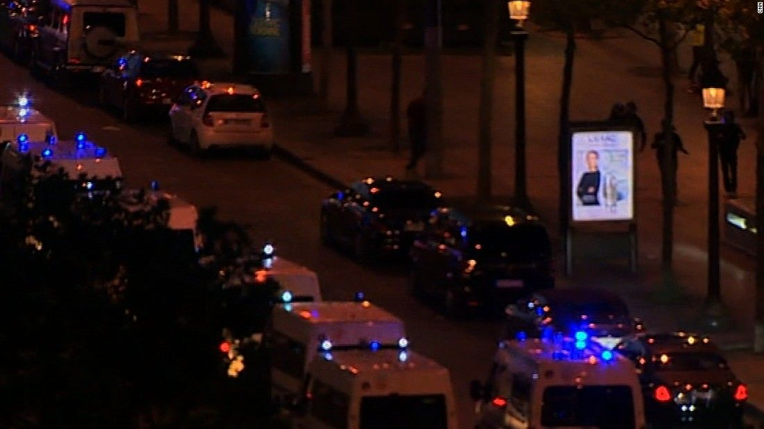 Report: Incident in Paris near Champs-Elysées - CNN Video