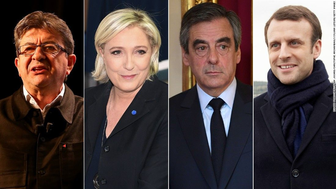 French elections: Far-right leader Le Pen and centrist Macron to face off, estimates say