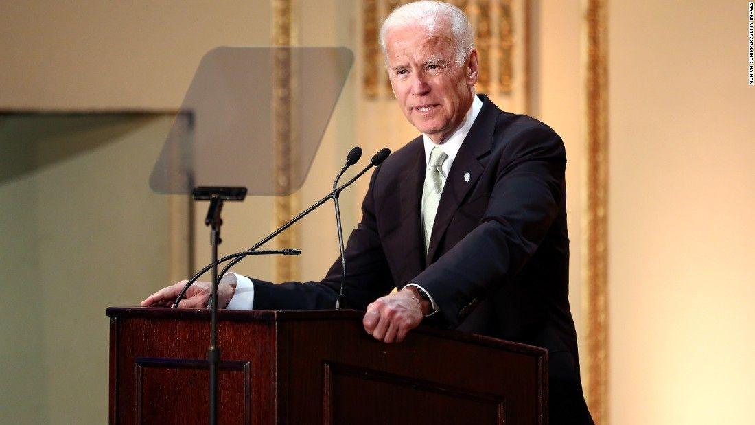 Biden isn't ruling out 2020 run for president