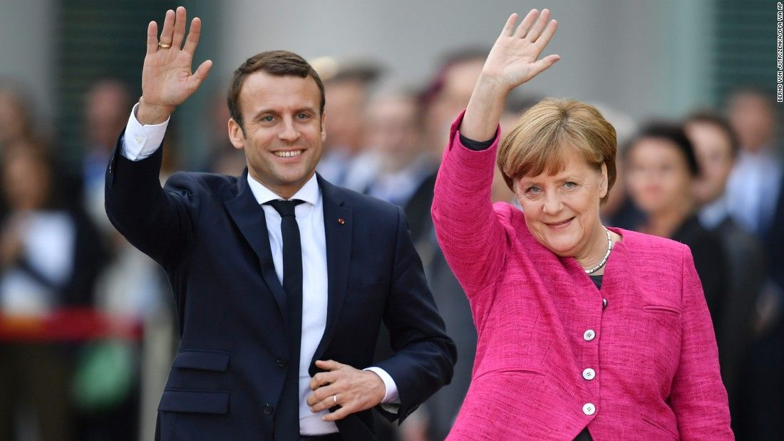 Macron meets Merkel: 'We need more trust ... and results'