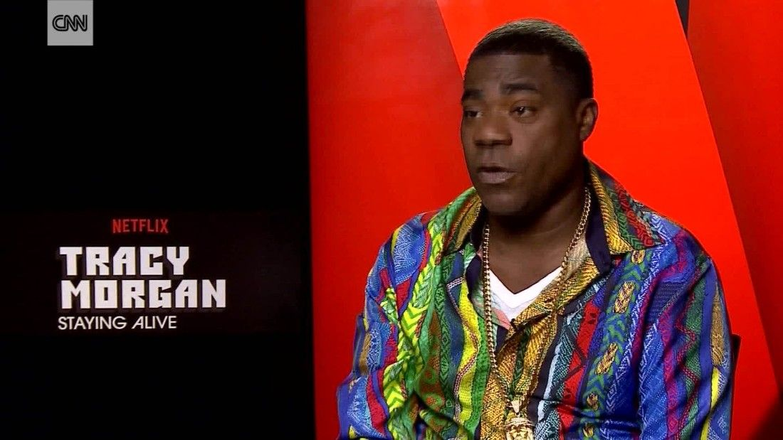 Tracy Morgan: Humor heals