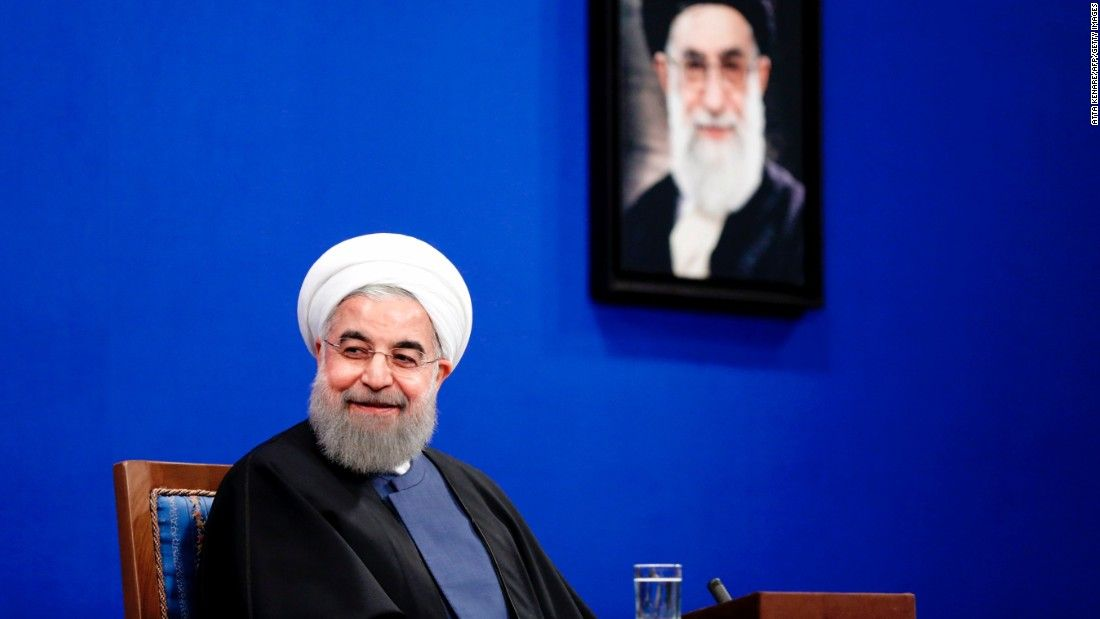 Iran State TV congratulates Rouhani on victory - CNN Video
