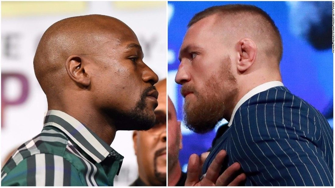 McGregor signs contract to fight Mayweather
