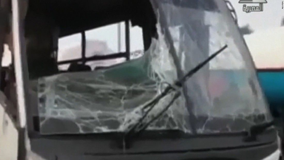 Gunmen fire at Christian bus in Egypt