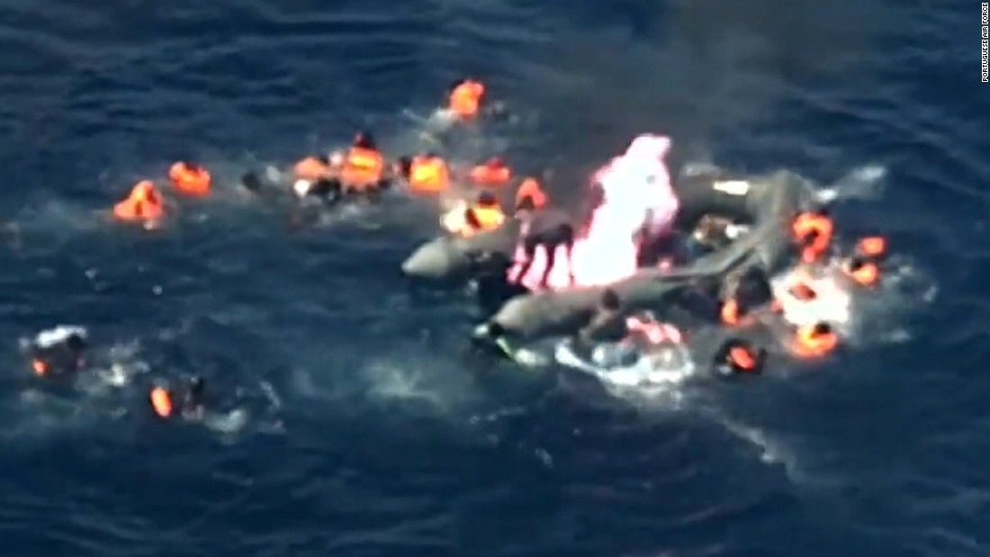 Migrant boat catches fire in Mediterranean