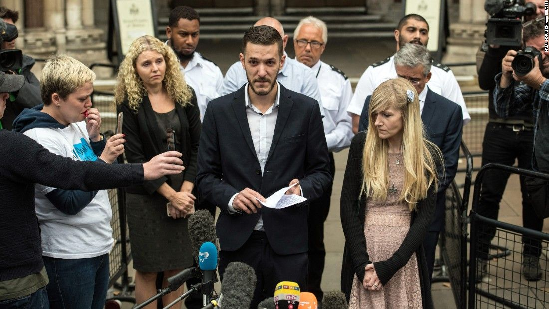 Baby Gard's dad: 'Sorry we couldn't save you'