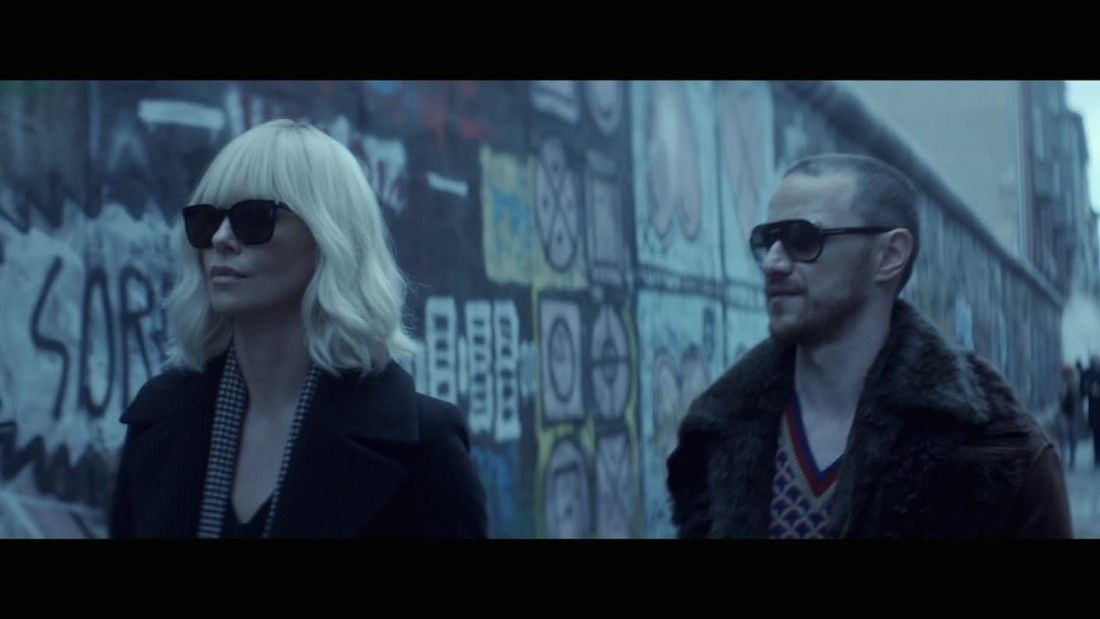Charlize Theron is unapologetic in 'Atomic Blonde'