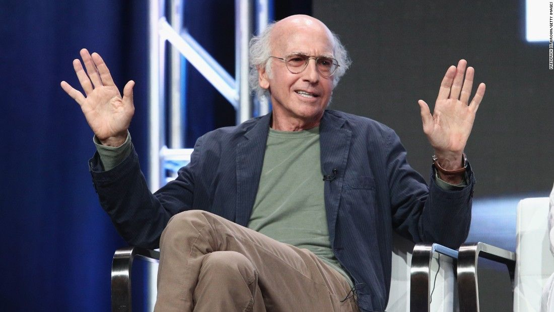 Larry David & Bernie Sanders are apparently related