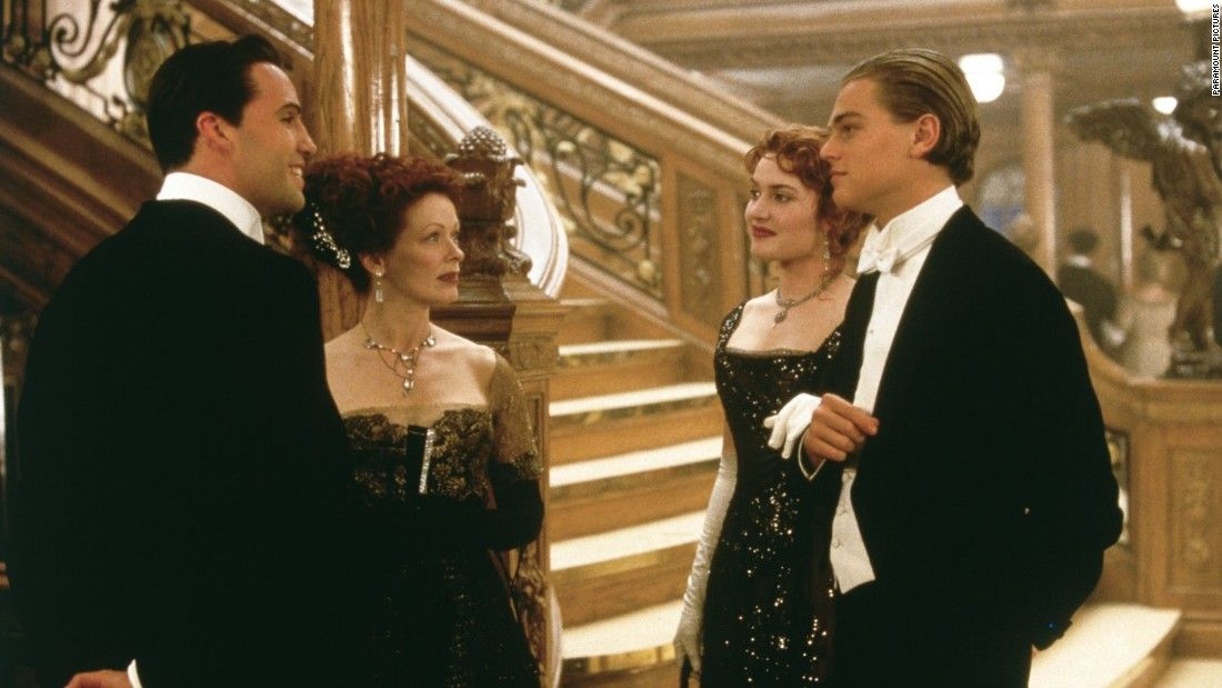 'Titanic' stars Leonardo DiCaprio, Kate Winslet and Billy Zane reunite at gala