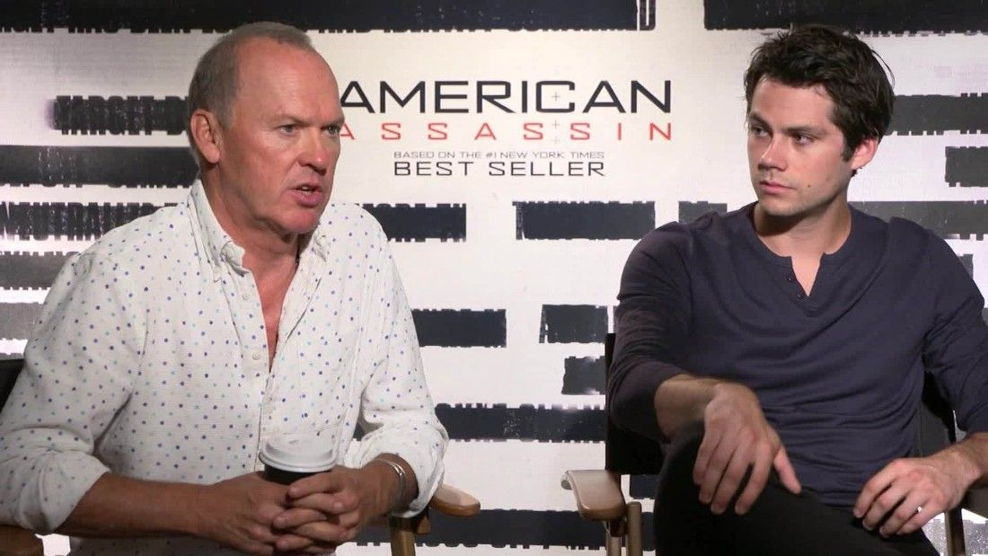 Michael Keaton, Dylan O'Brien talk stunts in 'American Assassin'