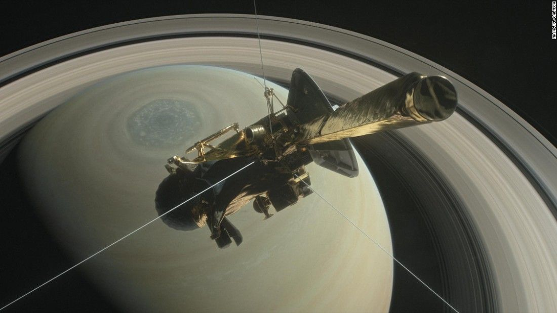 Cassini's 13-year Saturn mission ends Friday