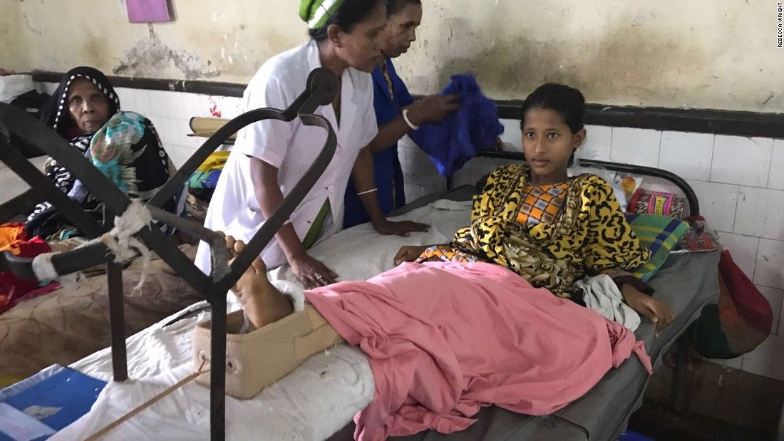 Bangladesh hospital at breaking point taking Rohingya victims