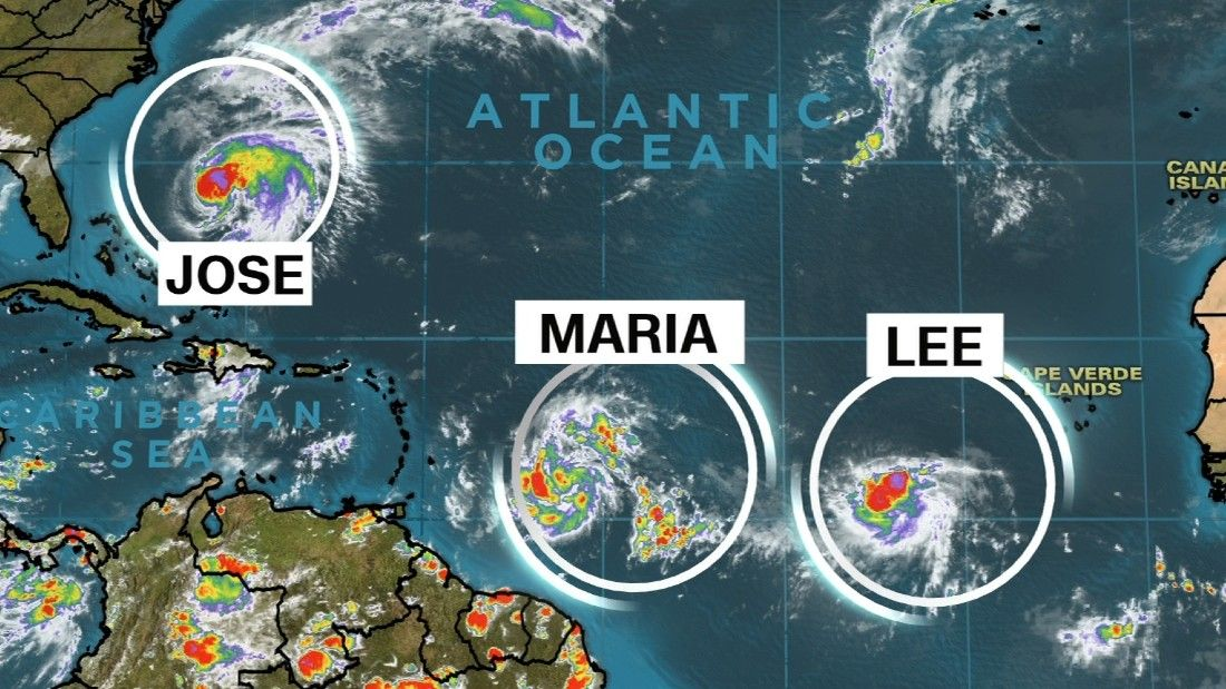 Maria strengthens to Category 1 hurricane