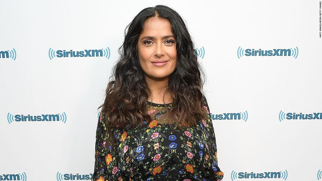 Salma Hayek rallies for Mexico earthquake relief