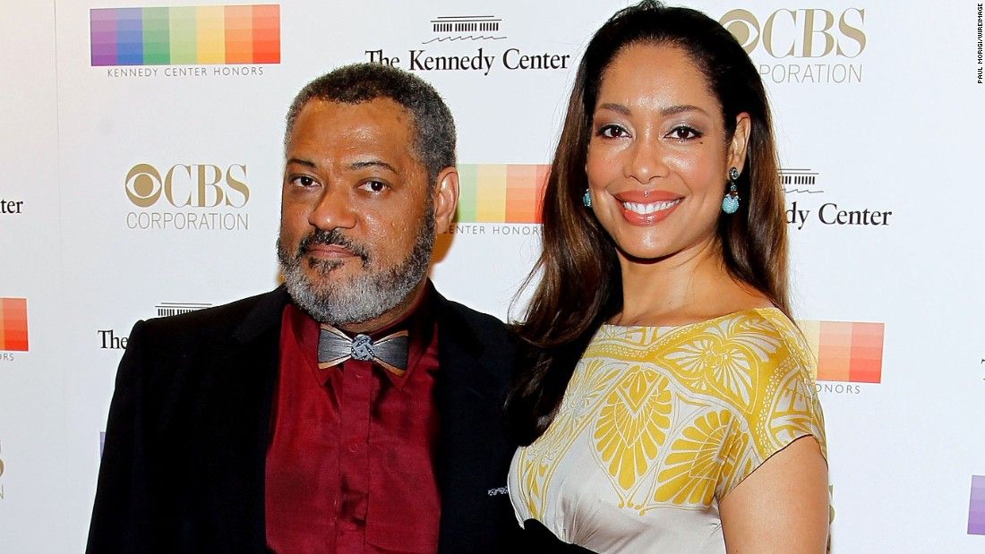 Gina Torres and Laurence Fishburne split