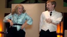 See mom and son's epic wedding dance  CNN com Video