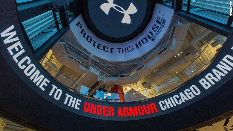 Under Armour tries to recover from Trump compliment