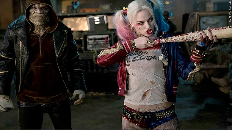 Harley Quinn stands out in 'Suicide Squad'
