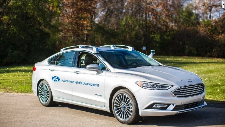 Ford just invested $1B in self-driving cars