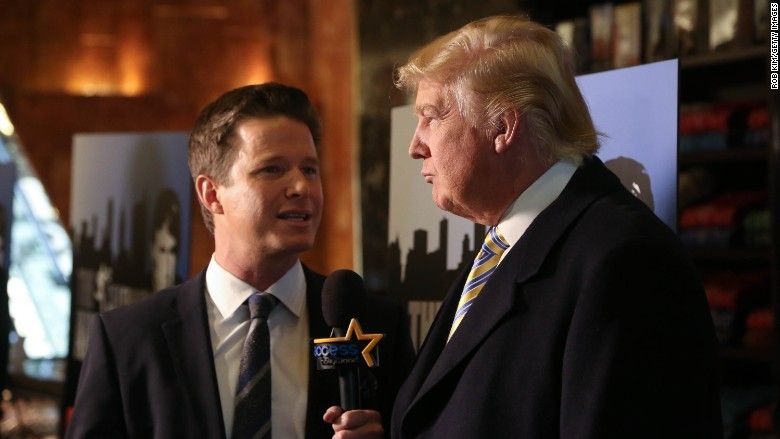 Billy Bush talks Trump 'Access Hollywood' tape: 'I wish I had changed the topic'