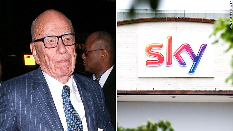Murdoch's Fox-Sky deal in hands of U.K. government