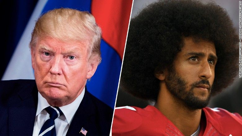 With 'son of a b****' comments, Trump tried to divide NFL and its players