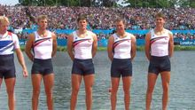London 2012: US rower Henrik Rummel denies podium erection  picture