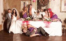 Geordie Shore' Vicky, Ricci 'get married'  pictures  Geordie Shore